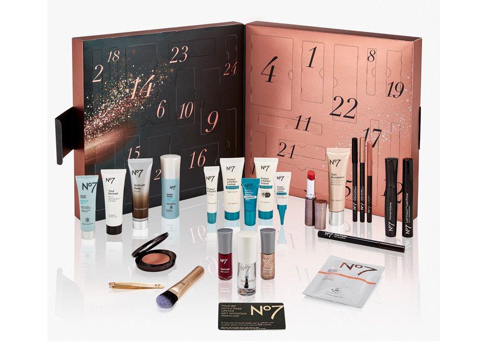 beauty advent calendars No7