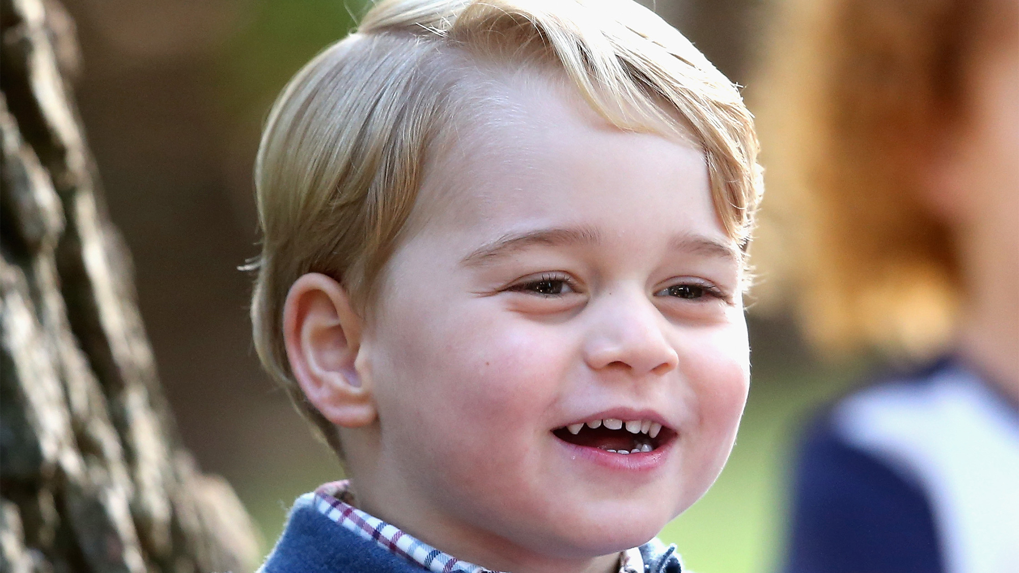 Here's how Prince George comforted a crying bridesmaid at the royal wedding