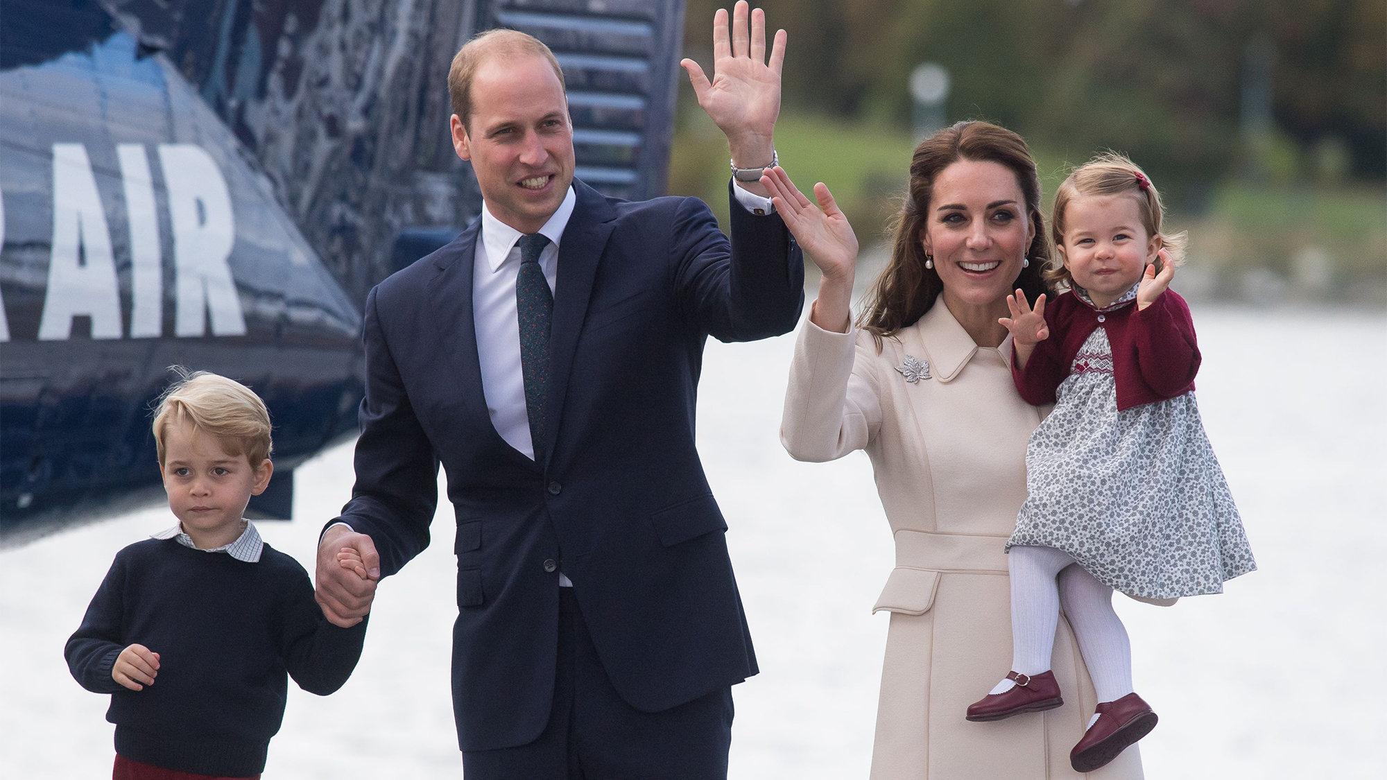 Why Prince William isn't supposed to fly in the same plane as Prince George and Princess Charlotte