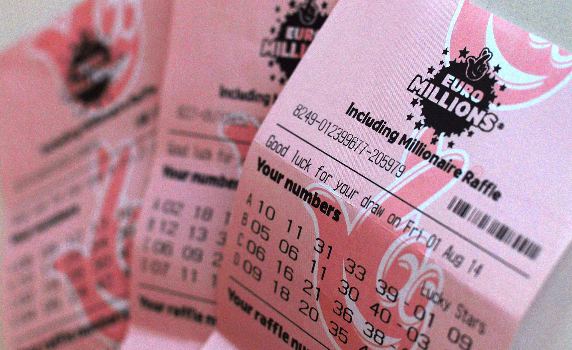 These are the most frequently drawn winning lottery numbers