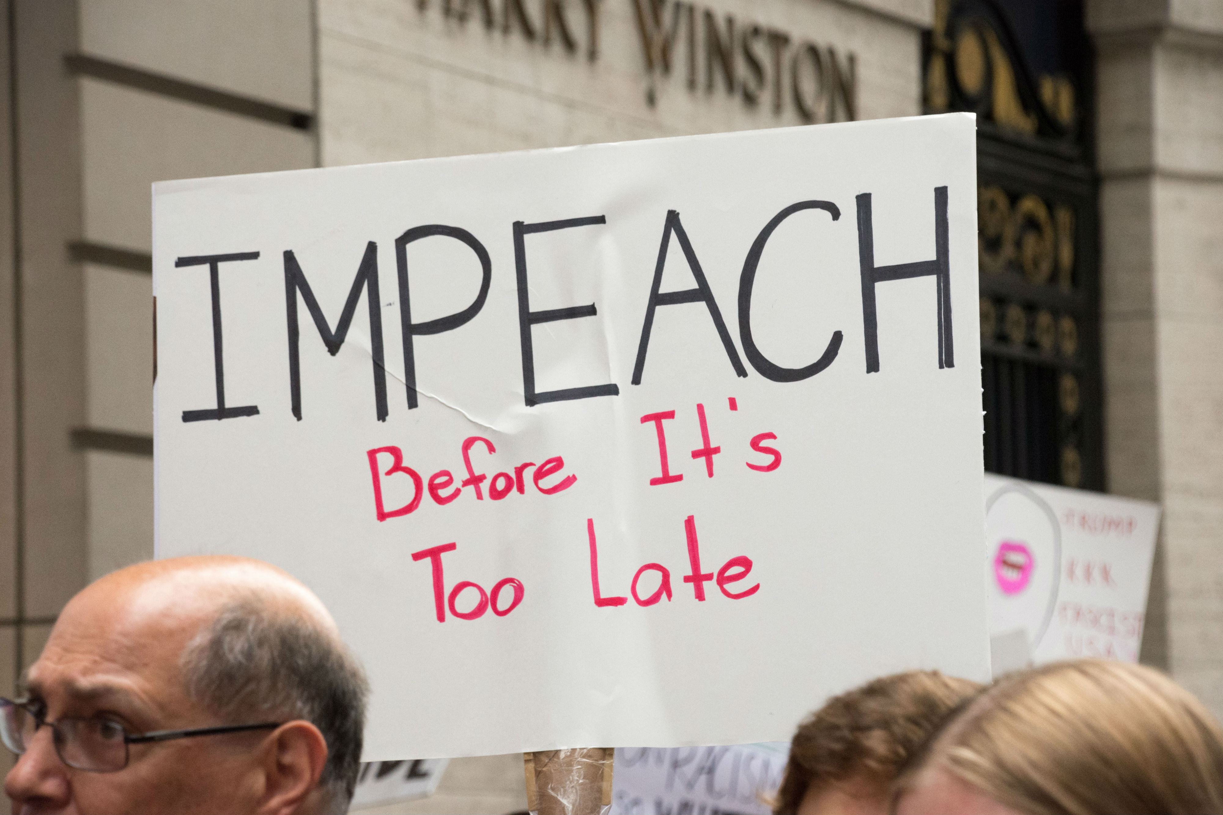 Will the President be impeached?