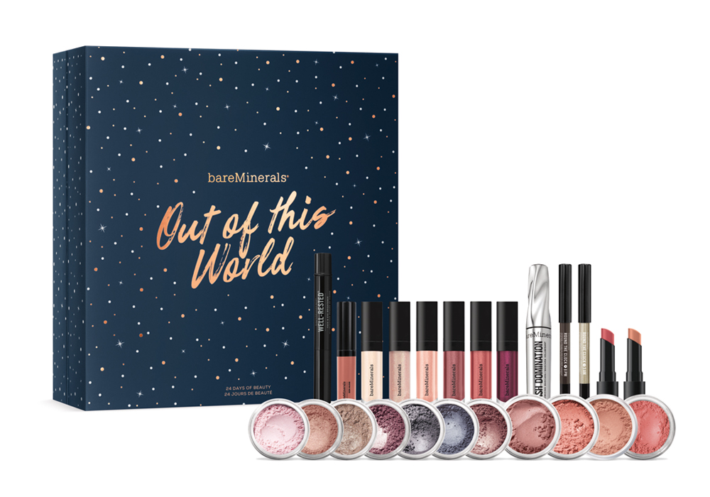 beauty advent calendar bareMinerals