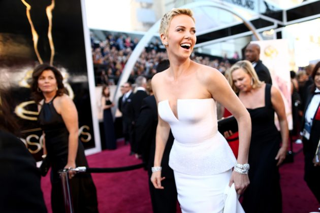 charlize theron, most expensive dresses