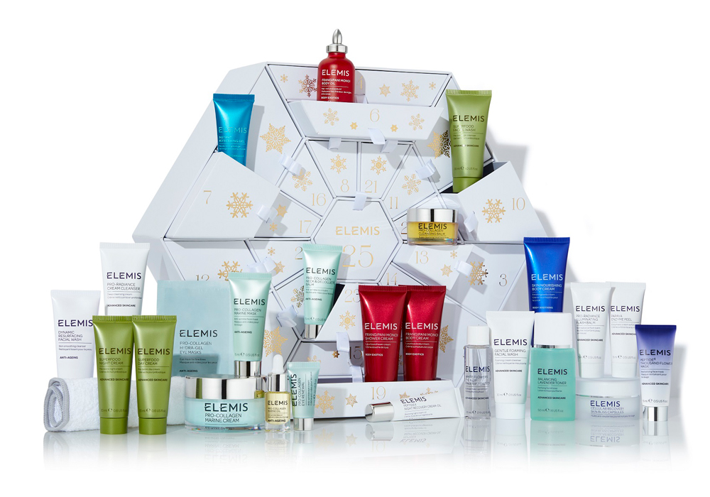 beauty advent calendars Elemis