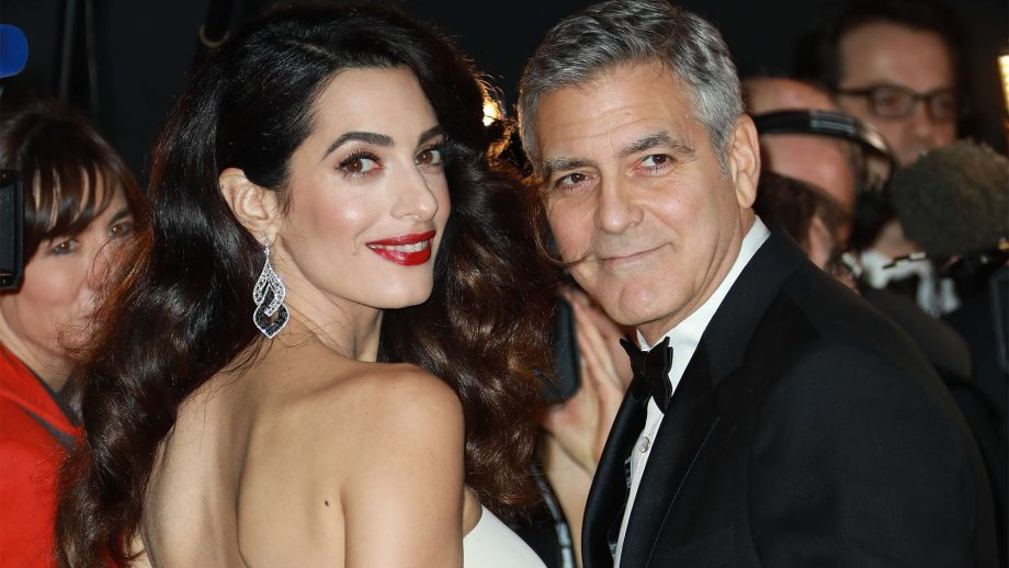 "George Clooney has supposedly installed ""James Bond-worthy"" security at his home George-amal-clooney-920x518"