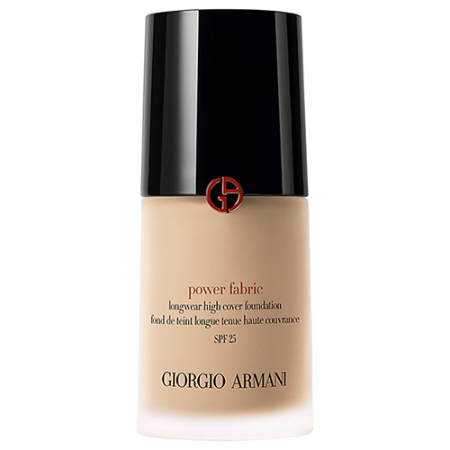 Best foundation for oily skin with full coverage. Giorgio Armani Power Fabric, £42, John Lewis