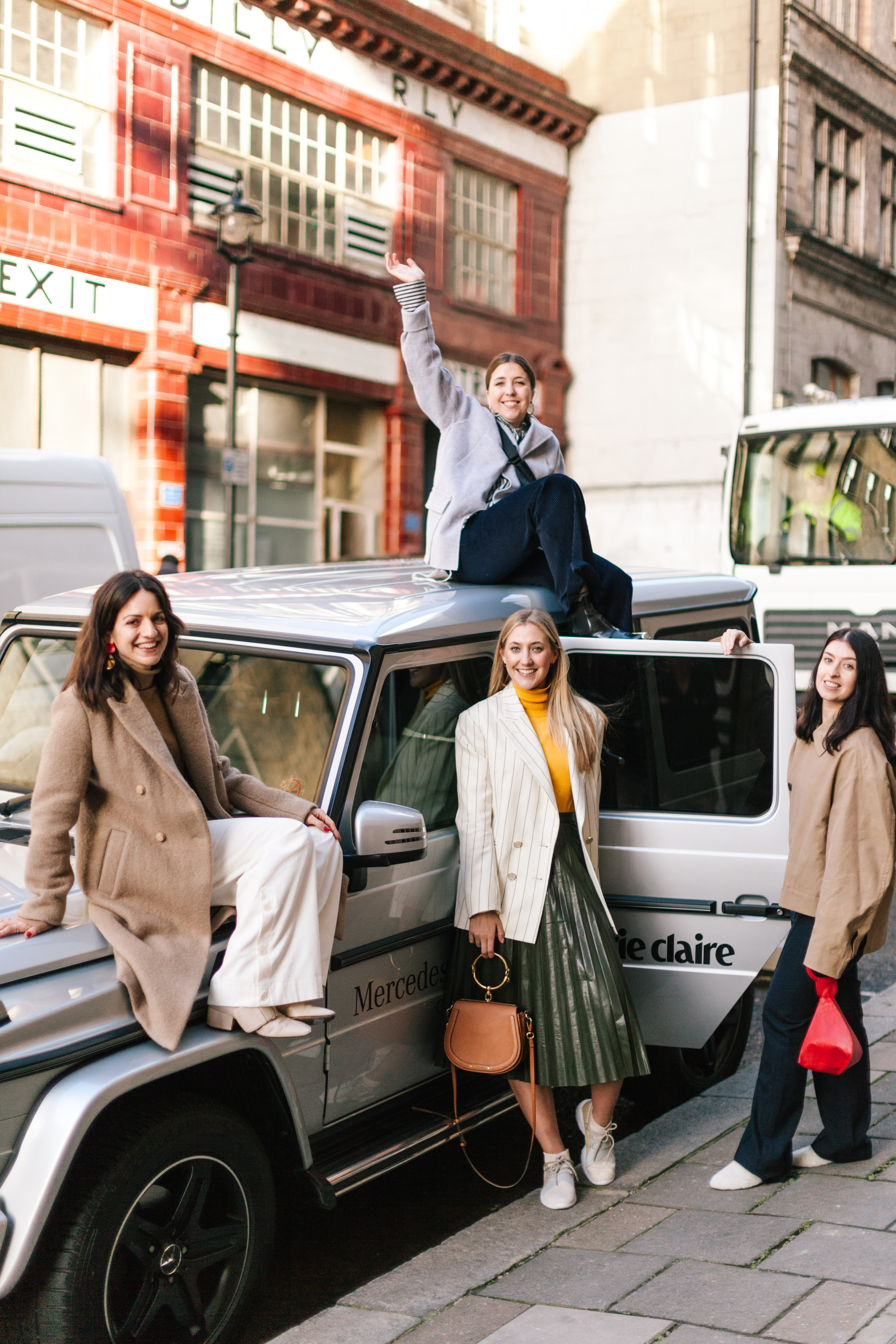 LFW Video: The Marie Claire Fashion Team In The Christian Louboutin Tribaloubi Car