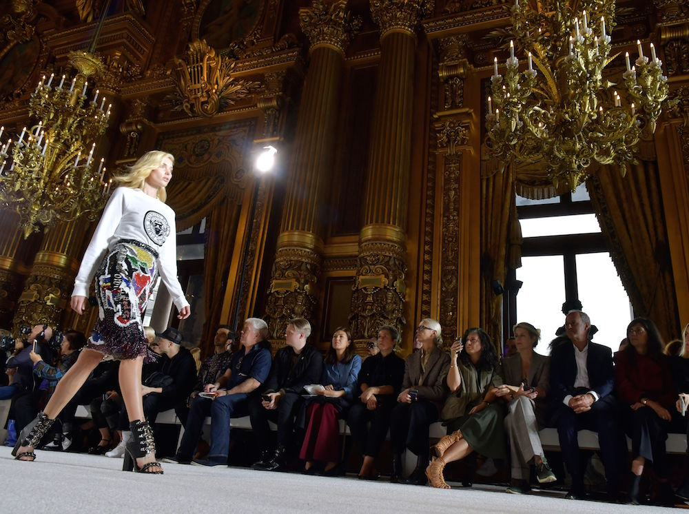 The Balmain show brings all the glamour at Paris Fashion Week SS18