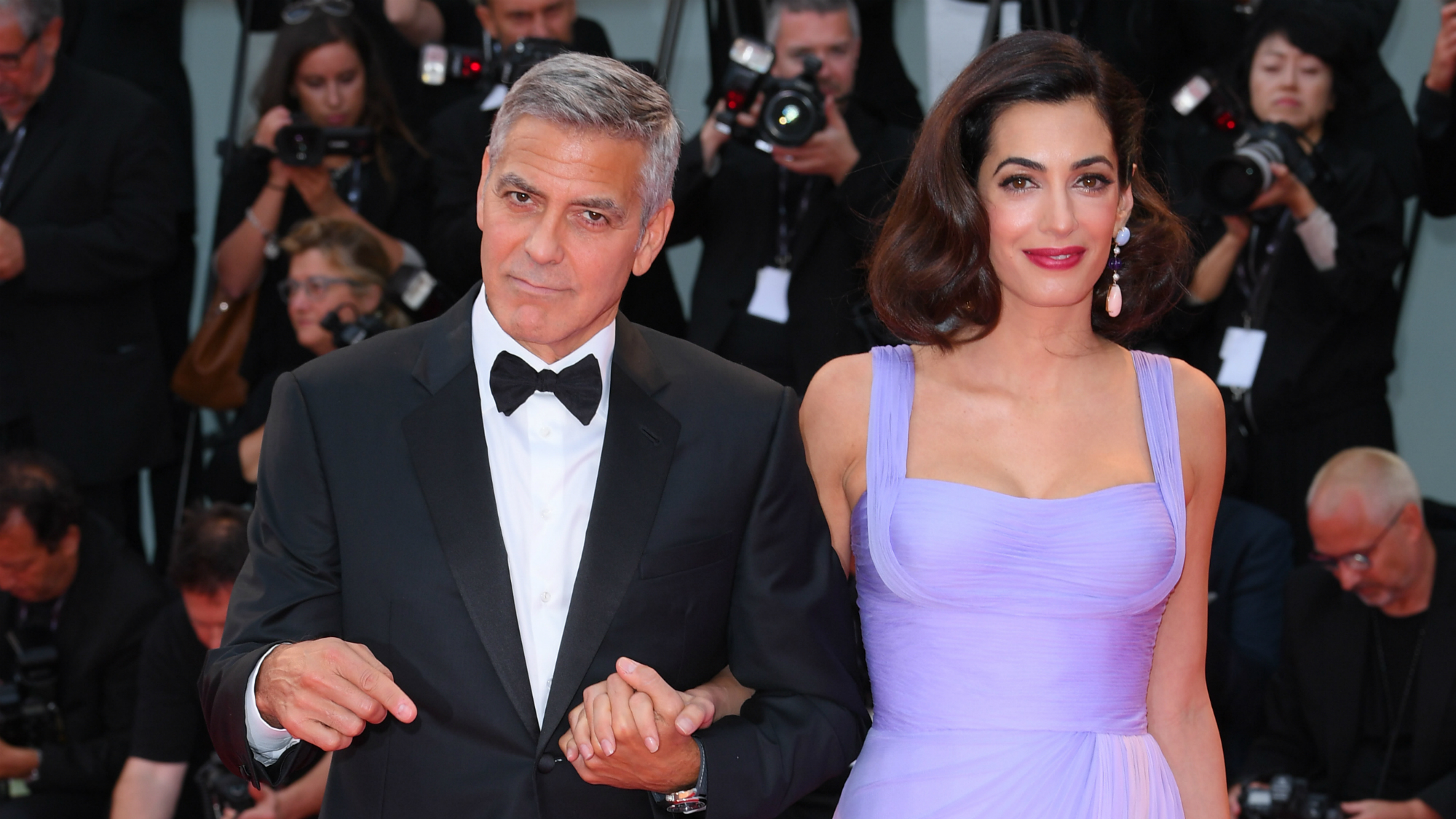 George Clooney Opens Up About Alexander And Ella's