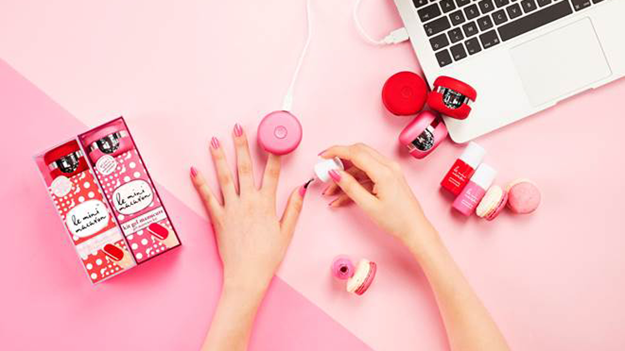 Le Mini Macaron is here to give you a flawless (and affordable) at-home gel manicure