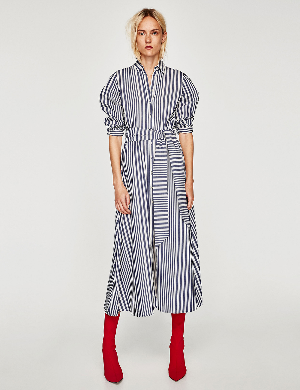 9e7c433c160 This Best-Selling Zara Dress Is Back With A New Season Update