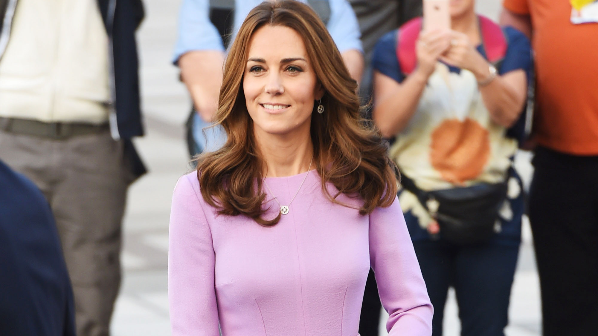 2777023c97a17 Kate Middleton dress style: from THAT naked dress to the McQueen, midis and  endlessly stylish maternity frocks