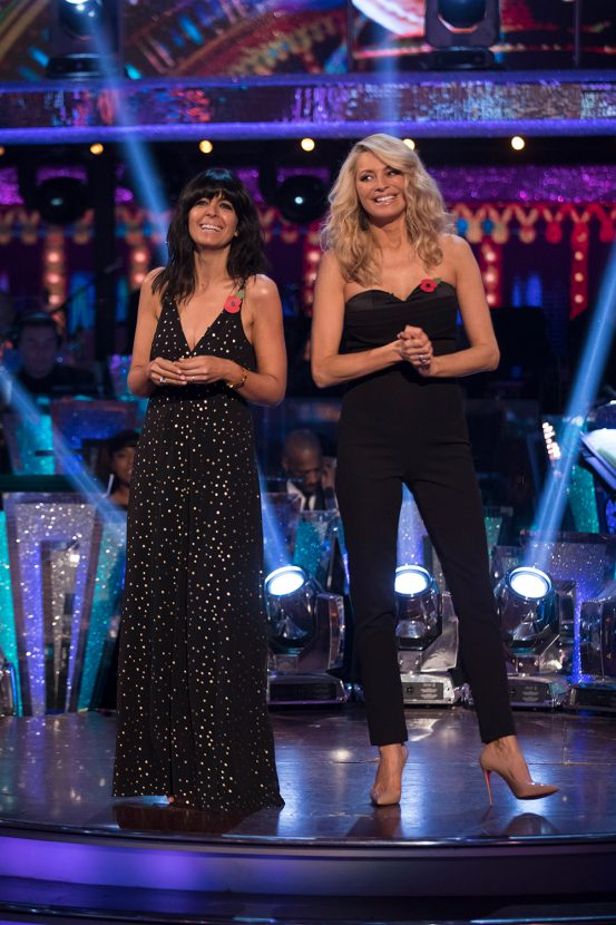 Claudia Winkleman wore the mother of all party dress on ...