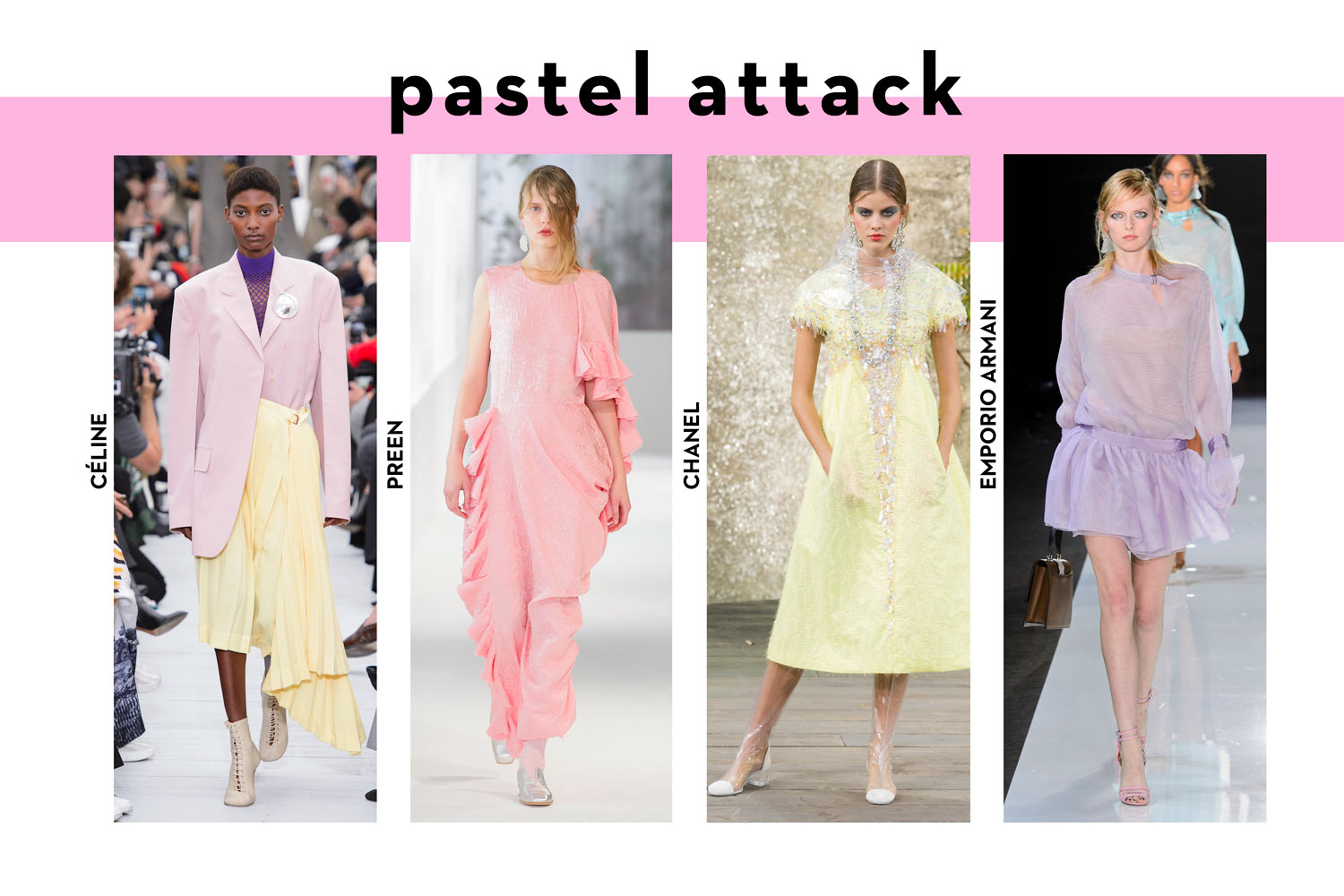 Summer fashion trends 2018 pastel colours