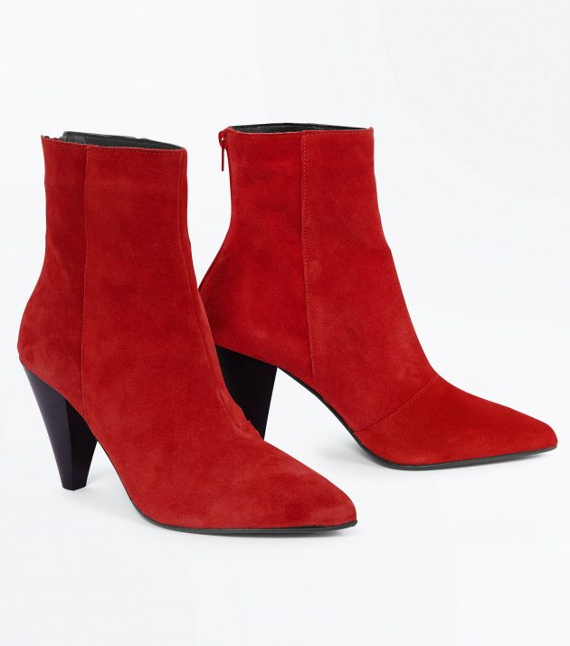 these New Look pointed ankle boots