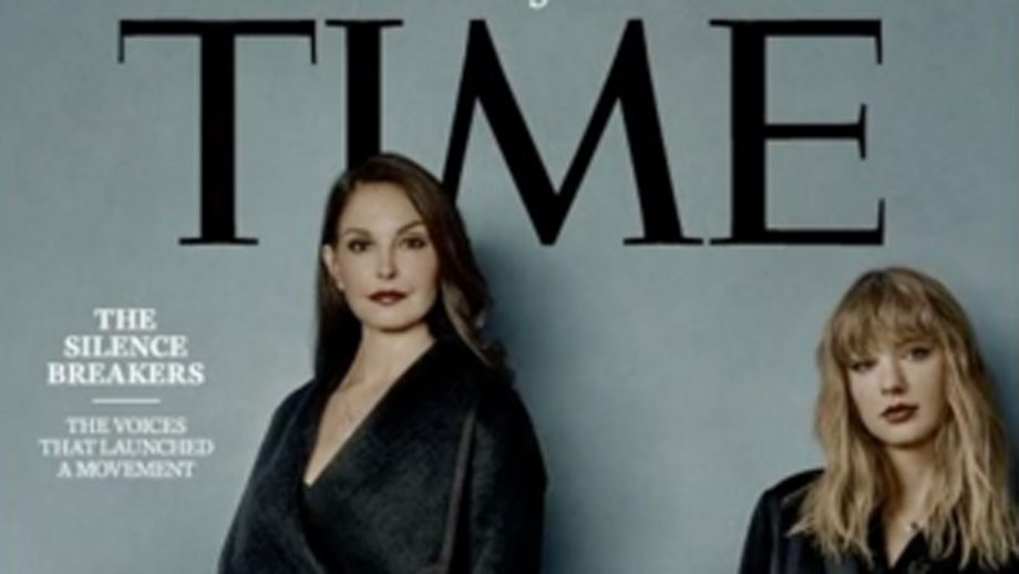 Why one woman was cropped out of Time's Person of the Year cover
