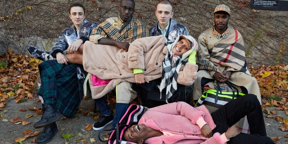 Adwoa Aboah and Juergen Teller Team Up For Burberry