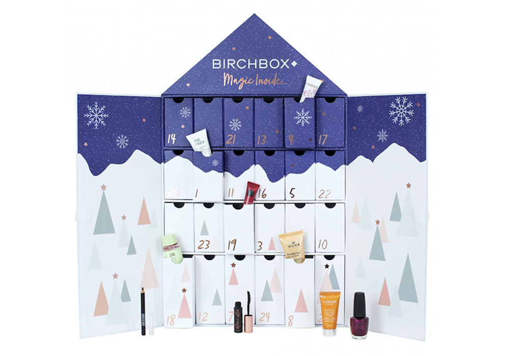 beauty advent calendars Birchbox