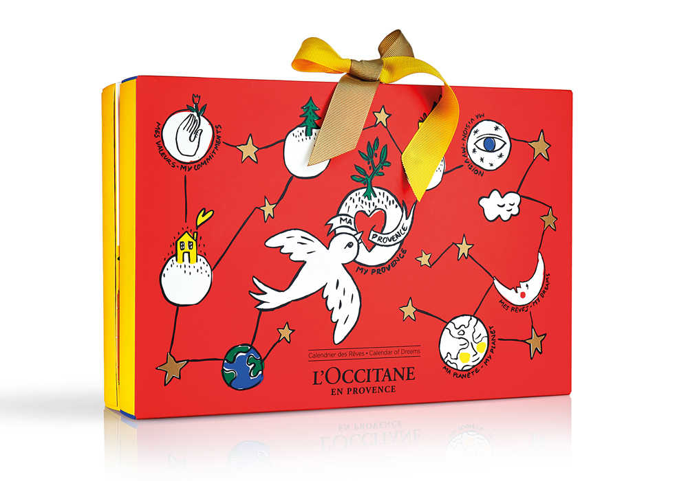 beauty advent calendars L'Occitane