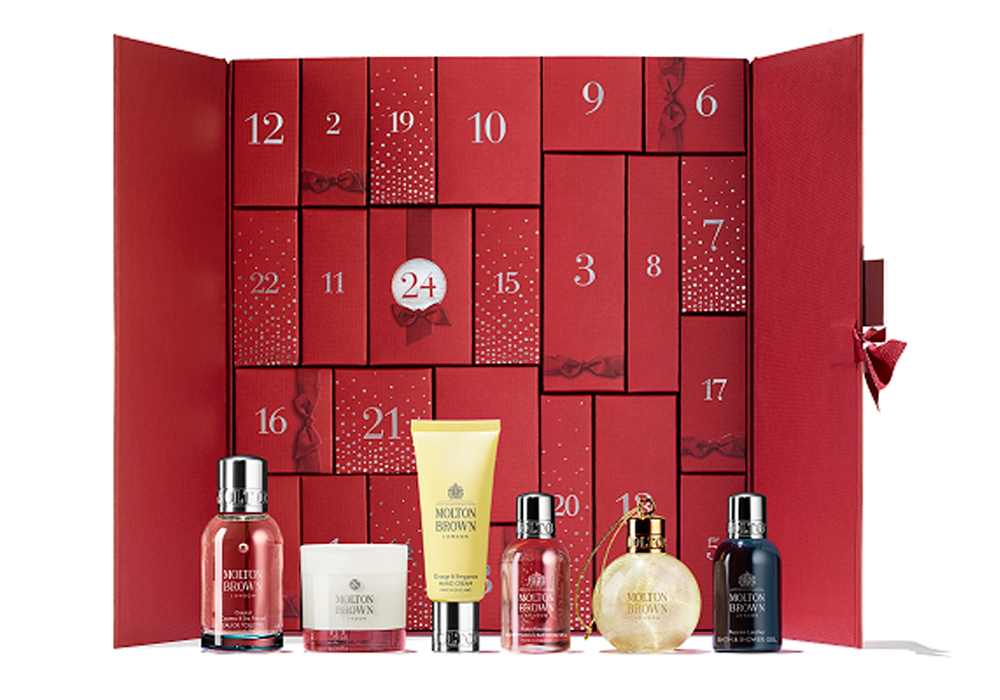 beauty advent calendars Molton Brown