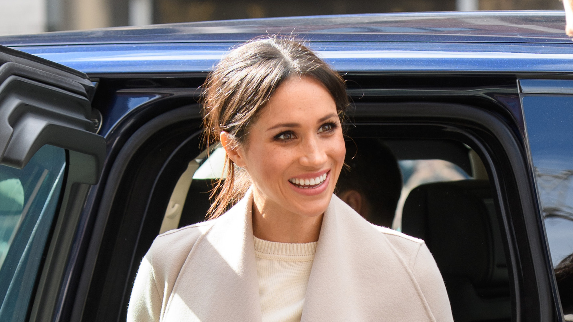 Here's why Meghan Markle chose to wear a sheer dress in her engagement photos