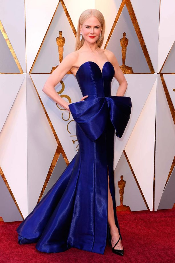 f045ee5ca84 Best Oscar Dresses Of All Time, From Audrey Hepburn To Lupita N'yongo