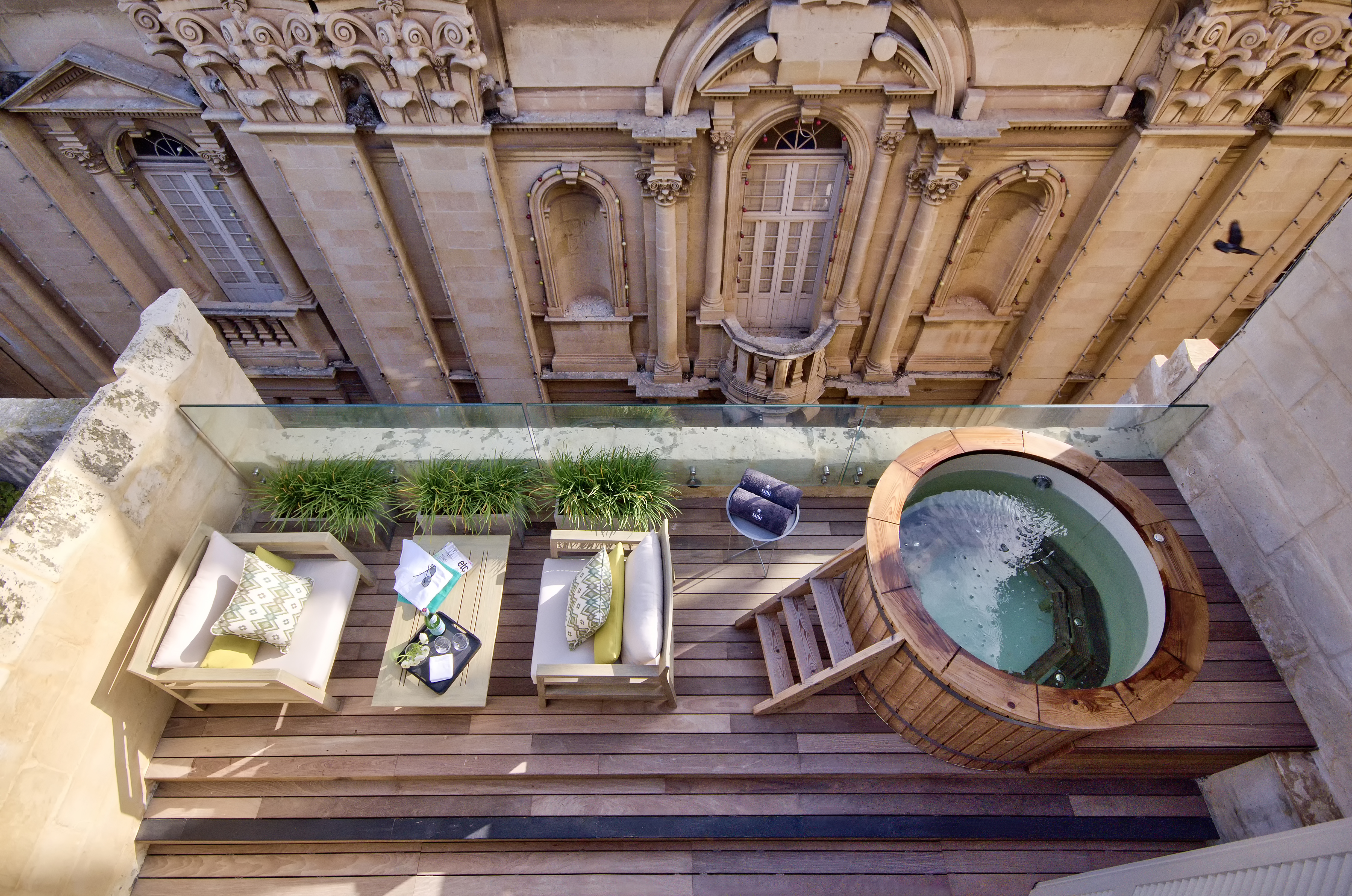 Amazing things to do in malta the courtyard space at casa ellul solutioingenieria Images