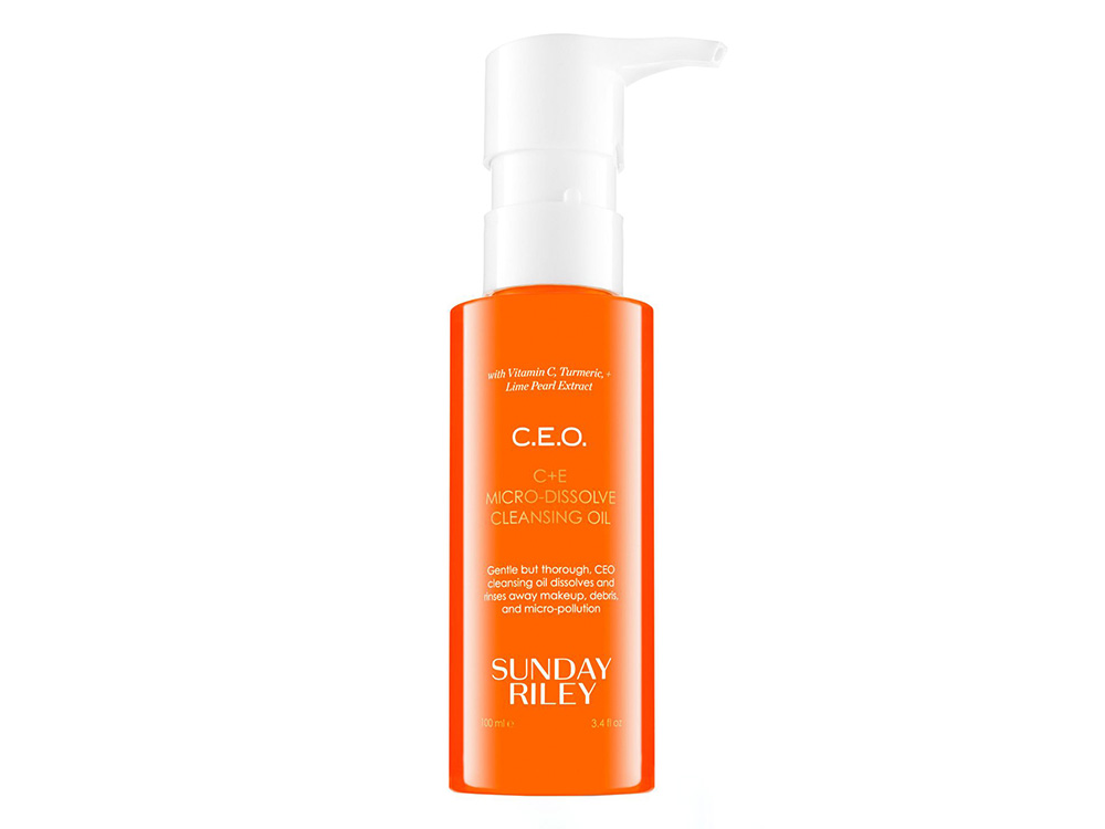 cleansing oil Sunday Riley