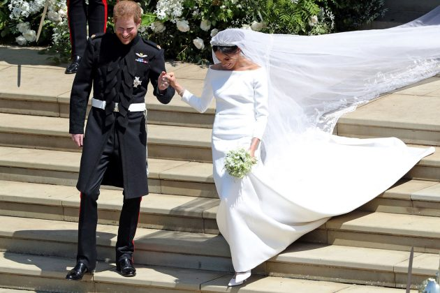 meghan markle wedding dress cost