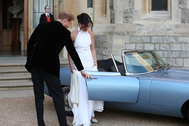 meghan second dress