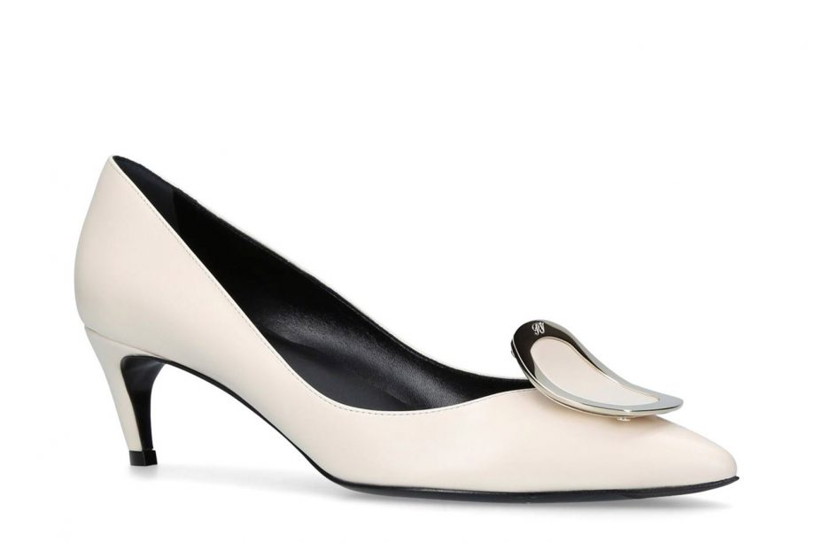 The best wedding shoes for every budget and bride roger vivier leather chips pumps 50 475 at harrods junglespirit Gallery