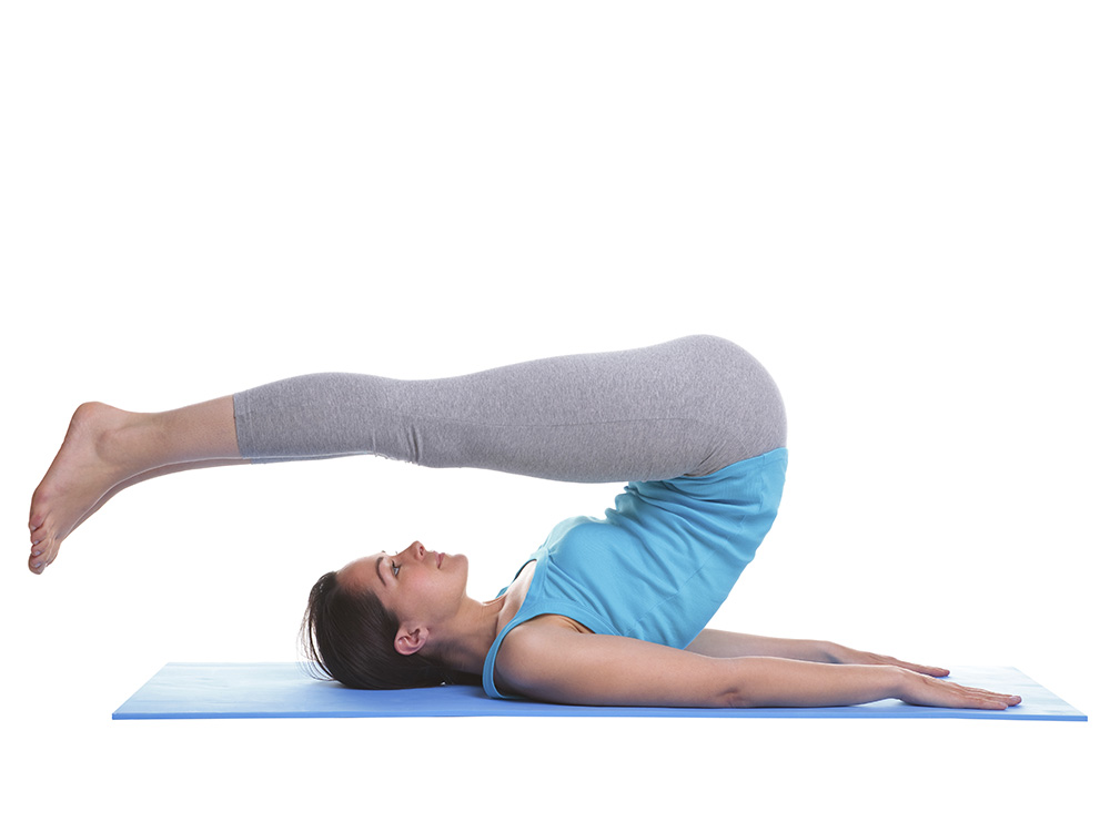 gut health yoga pose