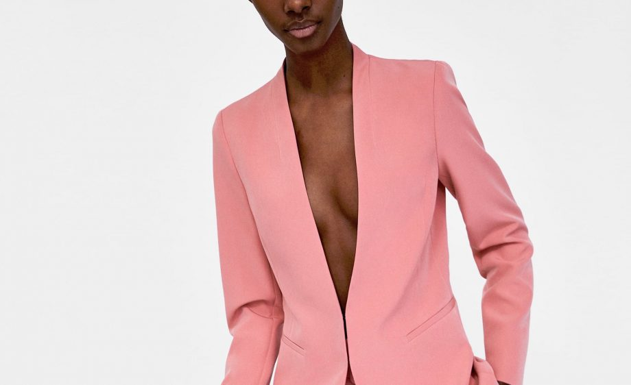 300da8ca This Pink Zara Suit Is Literally Everywhere And It's CEO Chic