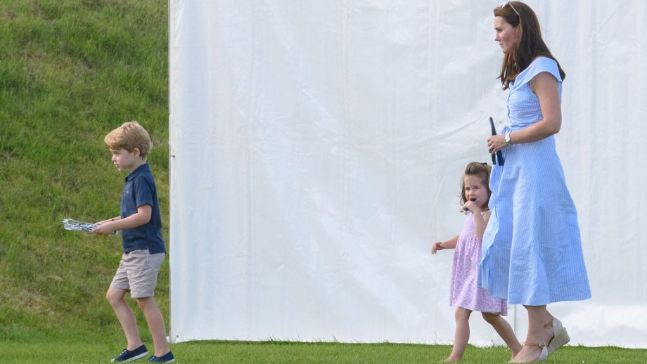 b95dcb62 Kate Middleton just wore another £40 Zara dress to the polo
