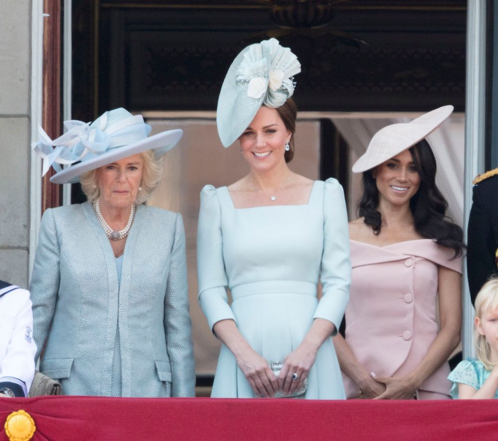 meghan markle trooping the colour dress
