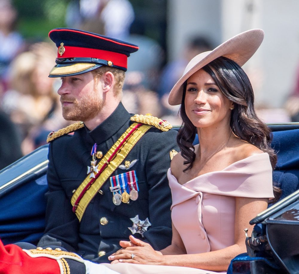 Meghan Markle's Trooping The Colour Dress Broke With Royal