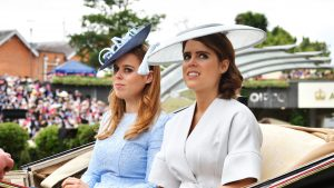 princess eugenie princess beatrice day to night