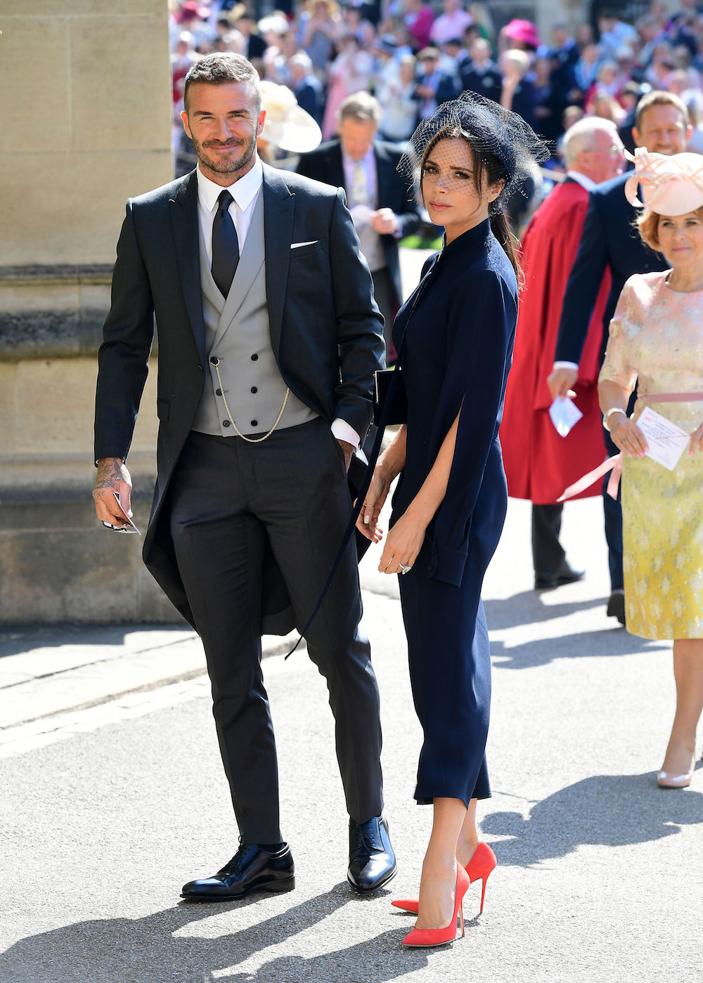 Even Victoria Beckham Couldn T Break This Royal Wedding Fashion Rule