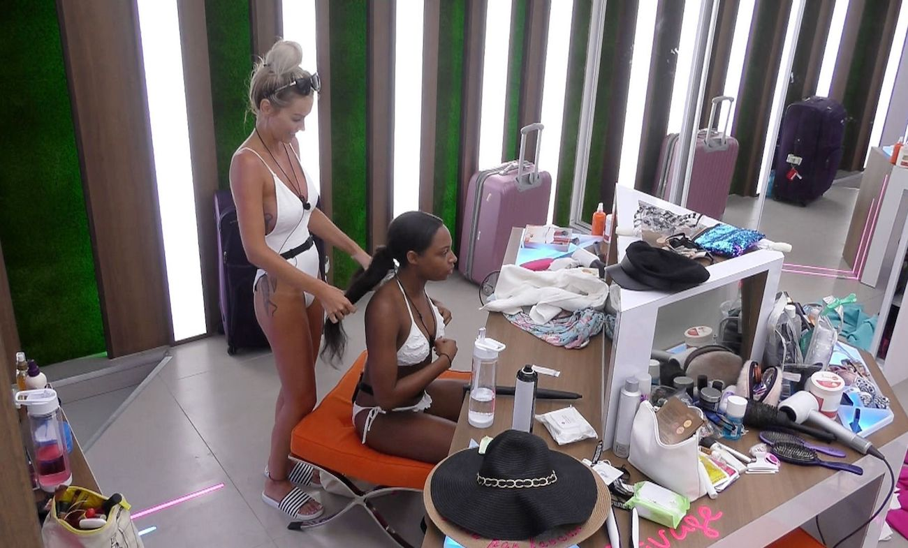a definitive guide to the beauty products used on love island. Black Bedroom Furniture Sets. Home Design Ideas