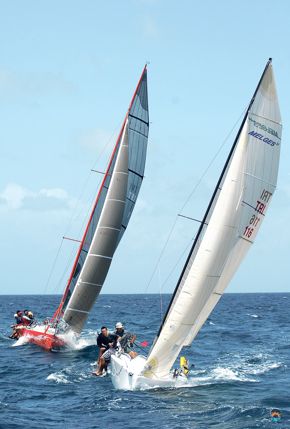 Sailing in Tobago