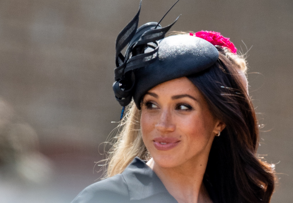 picture of Meghan Markle's hair