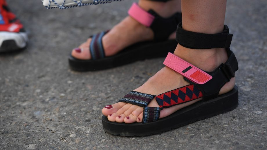 84caef564 The Scandi style set just brought back Tevas sandals