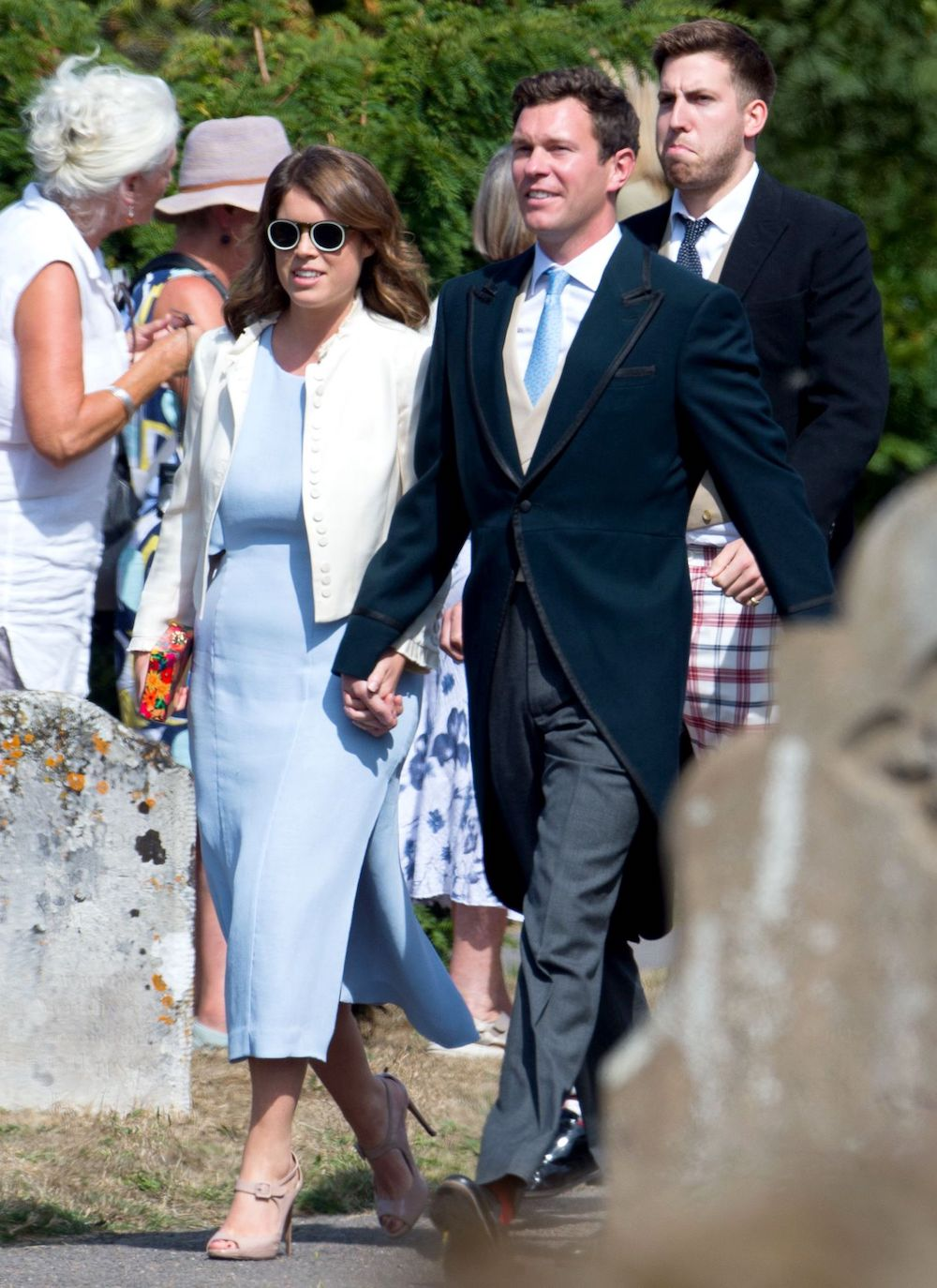 princess eugenie wedding dress code