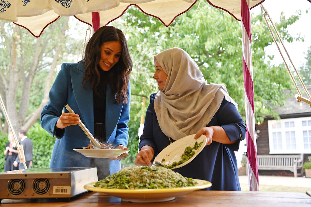 meghan markle cookbook sales