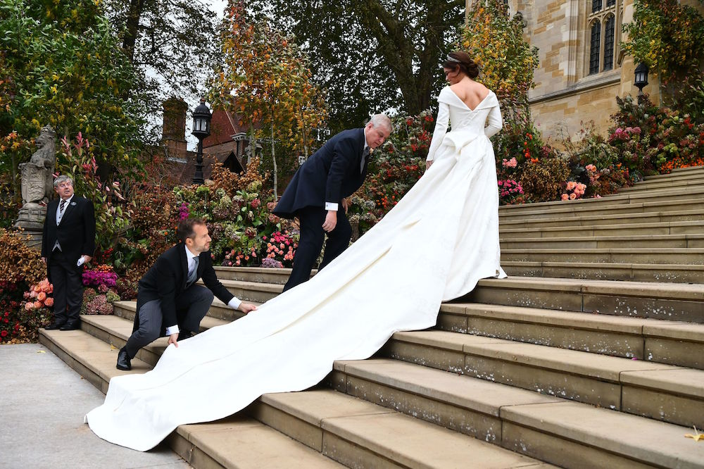 princes eugenie's wedding dress