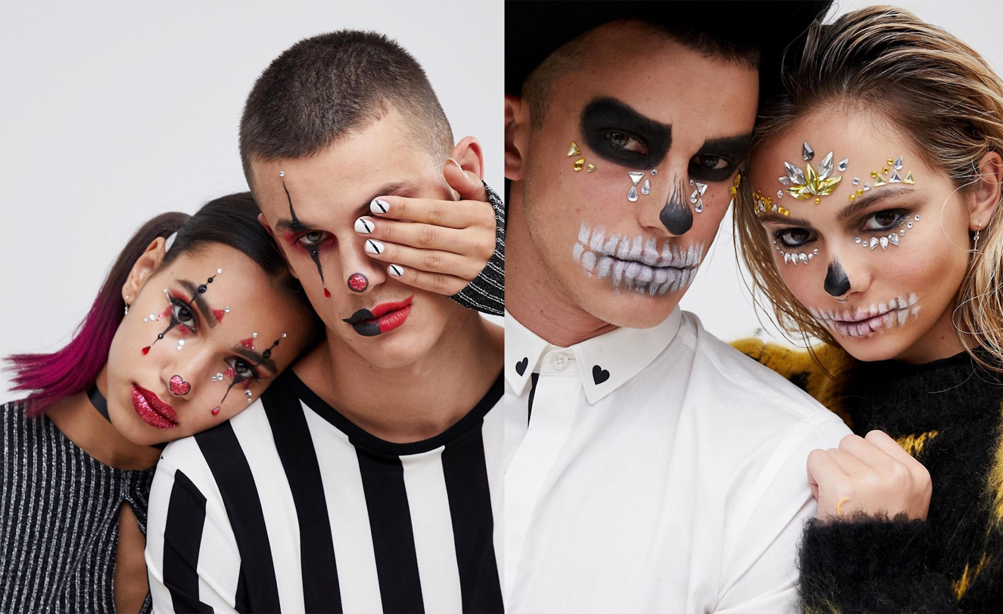 these asos halloween make up kits make fancy dress so much easier