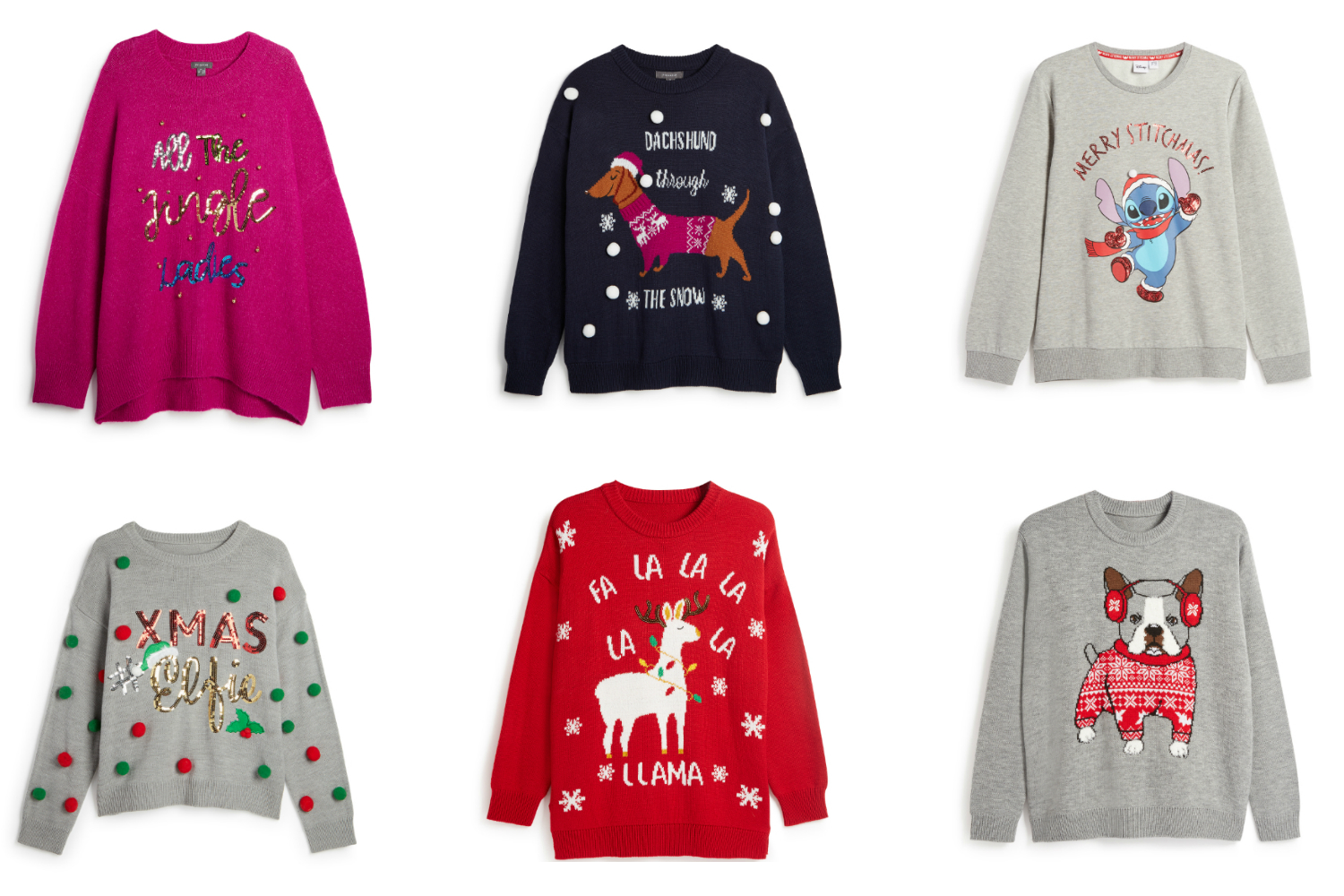 The New Primark Christmas Jumper Collection Has Got Us