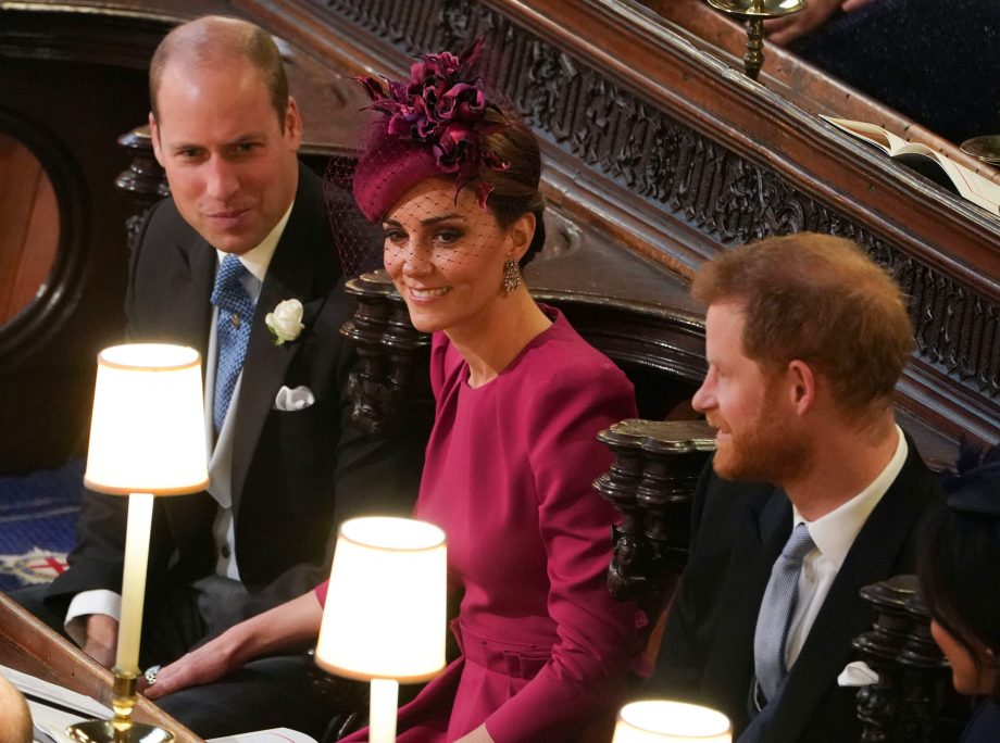 Did Kate Middleton and Prince William snub Meghan Markle in this photo?