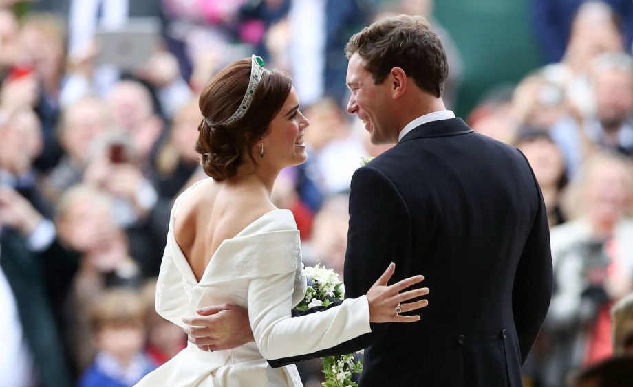 Princess Eugenie's wedding dress had a secret body positive message