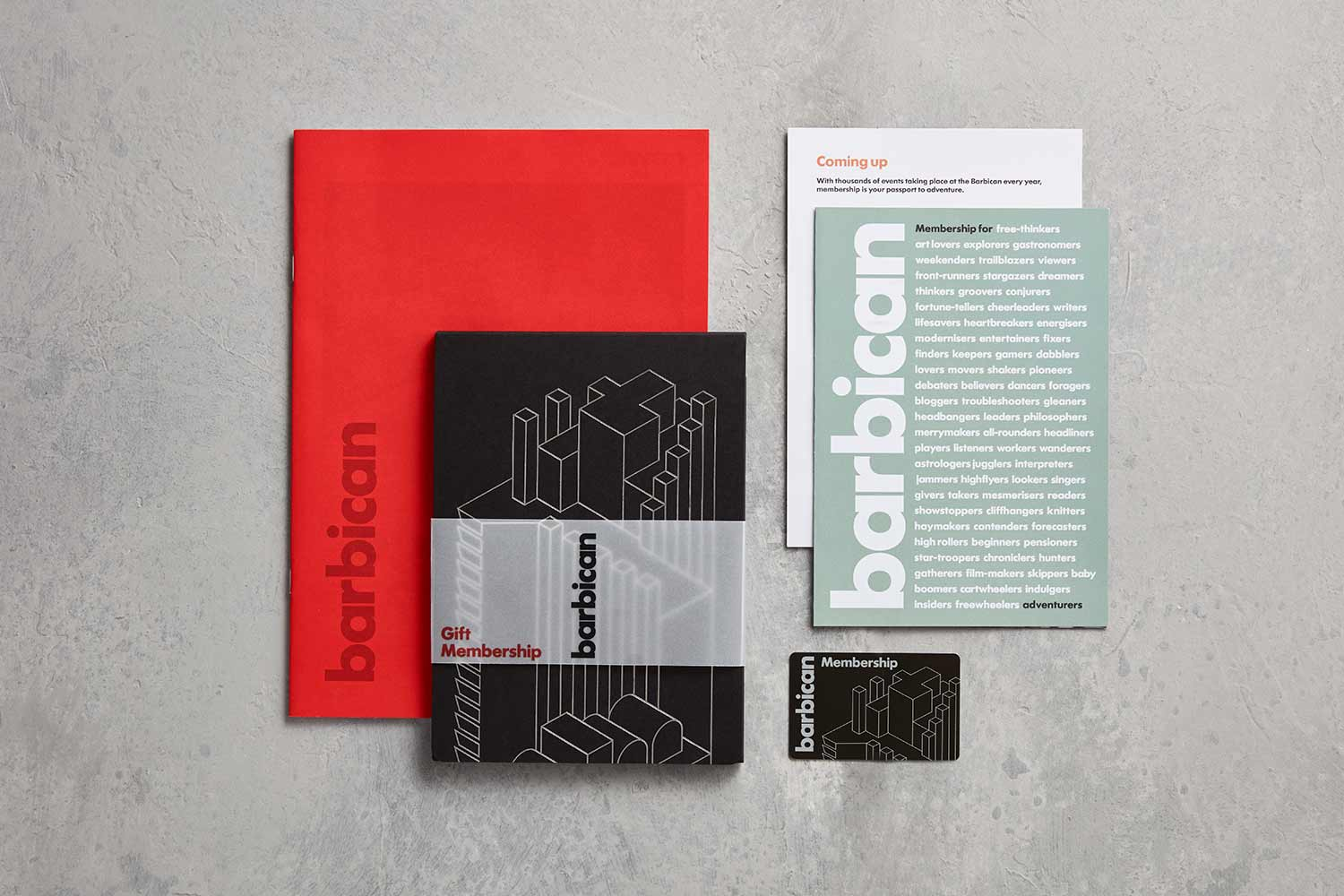 BARBICAN-MEMBERSHIP, Best Experience Day Gifts